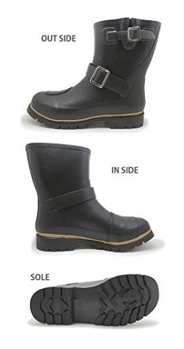 メンズエンジニアレインブーツ アマゾン 長靴 2
