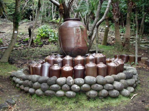 八丈島 島酒之碑