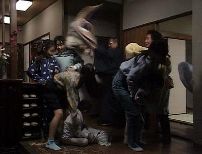 渡鬼第1シリーズ第27回。こどもの日に当時の孫たちが勢揃いした岡倉邸2