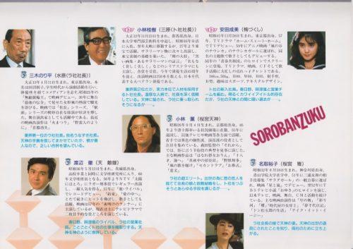 とんねるず主演、森田芳光監督作品『そろばんずく』パンフレット (19)