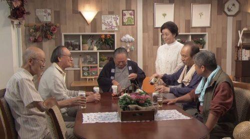 渡鬼2018 喫茶花常連メンバーと野田夫婦