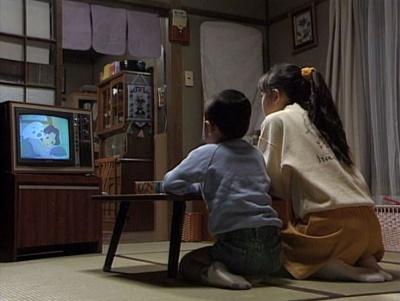 渡鬼第1シリーズ第29回。「少年アシベ」を観る愛と眞